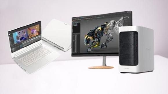 ConceptD: arriva la nuova generazione di PC Desktop e portatili Acer per creativi