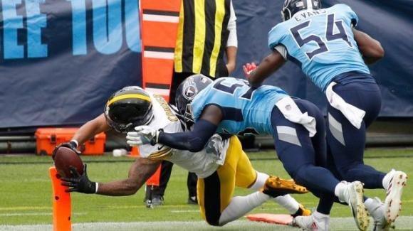 NFL 2020, 7a settimana: gli Steelers sono primi in classifica, i Titans vengono abbattuti