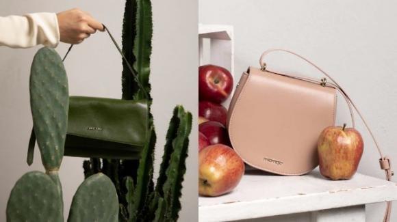 Le nuove borse vegan made in Italy, realizzate con cactus e bucce di mela