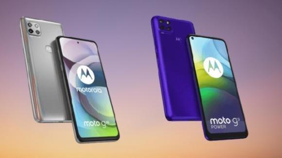 Moto G 5G e Moto G9 Power: ufficiali i nuovi medio-gamma di Motorola by Lenovo
