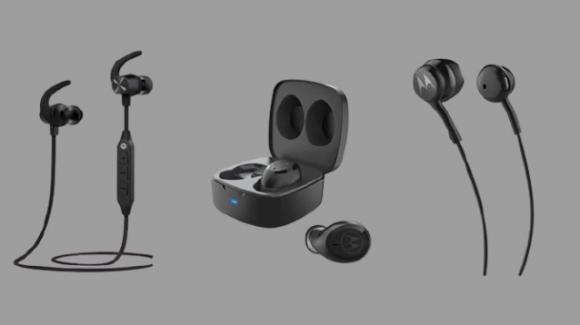 Verve Buds 100, Verve Loop 105, e Verve Rap 105: da Motorola nuovi auricolari e neckband