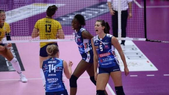 Samsung Volley Cup: Imoco Volley Conegliano vince 3-1 contro La Delta Trentino volley