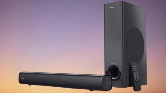 Home cinema al top grazie alla soundbar smart con surround Creative Stage V2