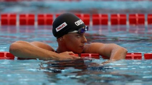 Federica Pellegrini torna in piscina a Budapest