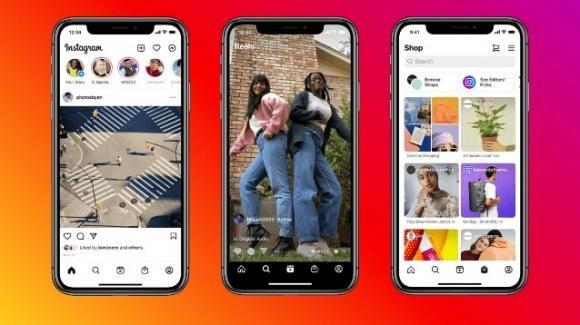 Instagram: rivoluzione nel layout a favore di Reels e Shop, ma non solo