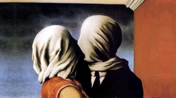 """""""Gli amanti"""" di Magritte, un dipinto profetico"""