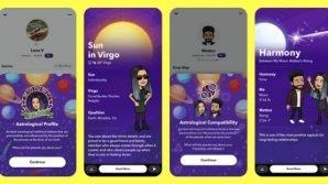 Snapchat: counter degli iscritti per i creativi, profilo astrologico per tutti