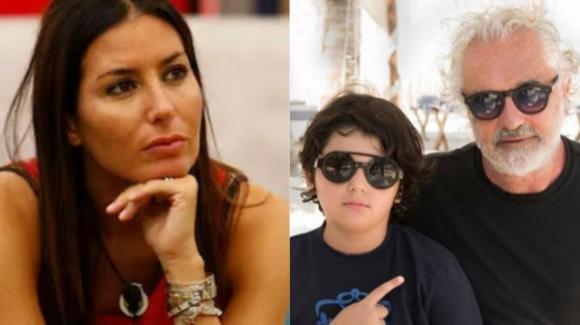 GF Vip, momenti difficili per Elisabetta Gregoraci: Flavio Briatore lascia l'Italia con il figlio Nathan