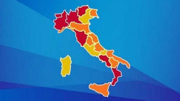 Covid, attesa per il 27 novembre: la mappa italiana dei colori potrebbe cambiare