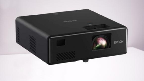 Epson: ufficiali i nuovi proiettori laser, trasportabili, anche con Android TV