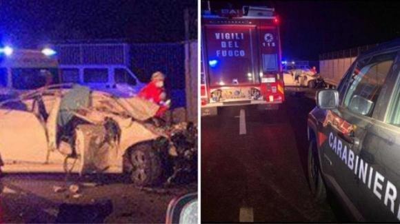 Incidente stradale a Villasor: un ferito e morti due giovani ragazzi di 17 e 18 anni