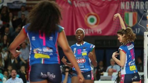 Samsung Volley Cup: Unet E-work Busto Arsizio vince per 3-0 contro Igor Gorgonzola Novara