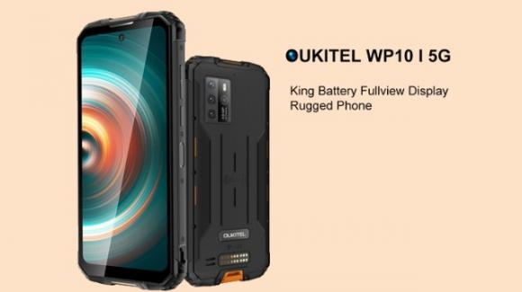 """Oukitel WP10 5G: ufficiale il rugged phone 5G """"più conveniente sul mercato"""""""