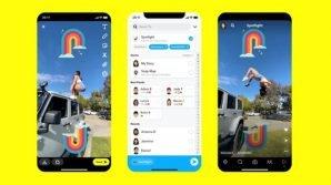 Snapchat: ufficiale Spotlight, il feed che remunera i creativi
