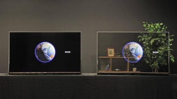 Ufficiali i primi display trasparenti, con tecnologia OLED, di Panasonic