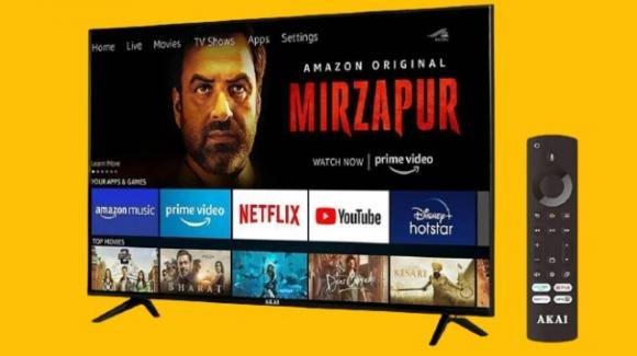 Akai Fire TV Edition: ufficiale la smart TV low cost dal cuore amazoniano