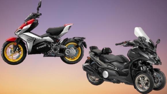 Kymco F9 e Kymco CV3: moto e scooter innovativi pronti per il nuovo anno