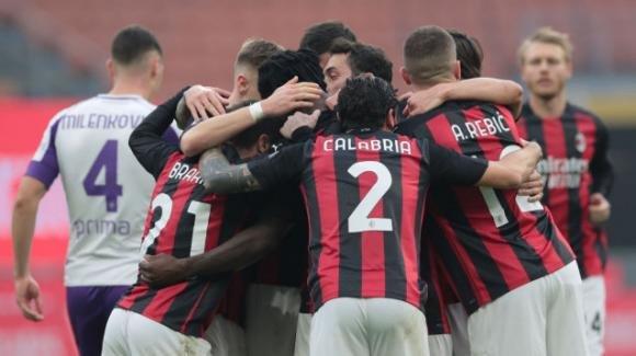 Serie A: il Milan non si ferma e vince a San Siro. Formazioni e highlights
