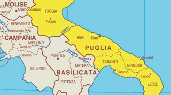 Coronavirus, la Puglia da domenica 6 dicembre potrebbe diventare zona gialla