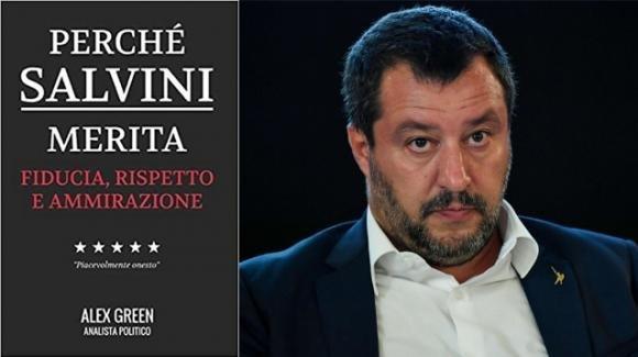 """Amazon, in vetta il libro """"Perché Salvini merita fiducia rispetto e ammirazione"""", composto solo da pagine bianche"""