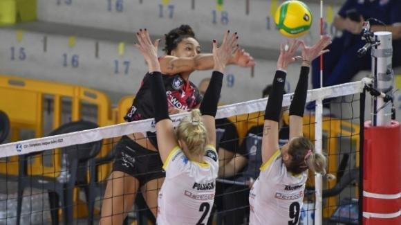Champions League volley, 2020/2021: Busto Arsizio vince 3-2 contro Rzeszow