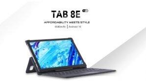 Blackview Tab 8E: ufficiale il tablet low cost con cover keyboard e maxi batteria
