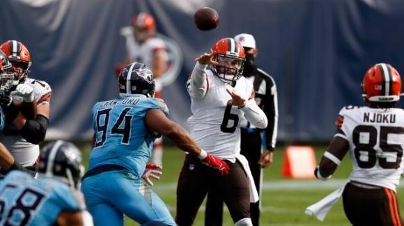 NFL 2020, 13a settimana: i Browns superano fuori casa i Titans, il Washington Football Team piega gli Steelers