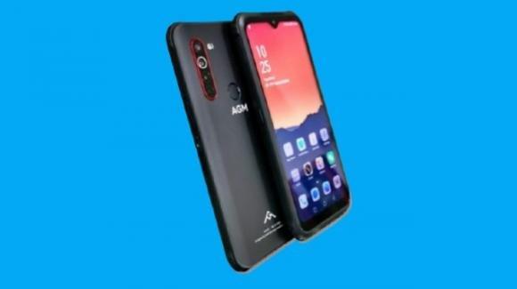 AGM X5: ufficiale il rugged phone di fascia media, con connettività 5G