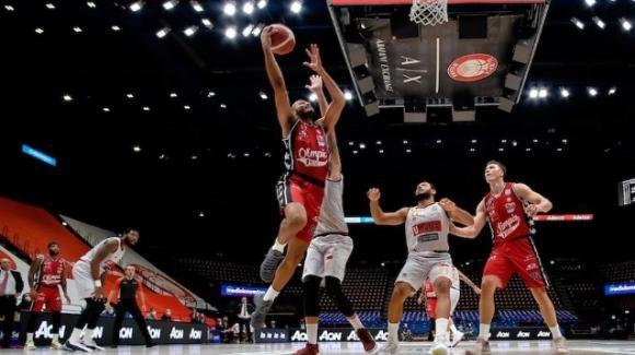 Basket Serie A: Brindisi espugna Milano e vola in testa alla classifica
