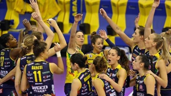 Volley femminile serie A1: Conegliano vince 3-1 in casa di Casalmaggiore