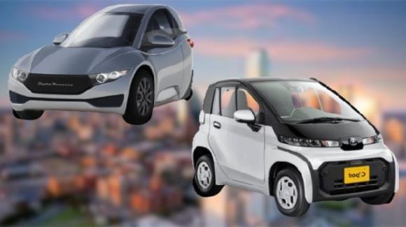 Da ElectraMeccanica e Toyota le city car ecologiche Solo EV e C+ pod