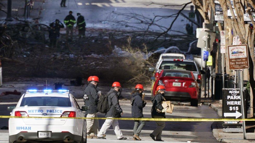 Identificato responsabile esplosione Nashville, suoi i resti