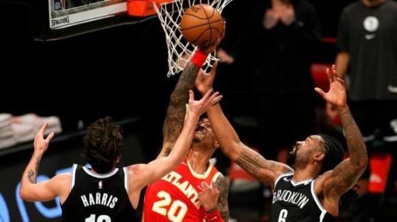 NBA, 1 gennaio 2021: gli Hawks si rifanno sui Nets, i Jazz bloccano i Clippers