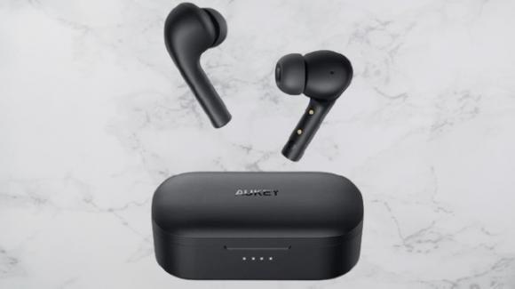 AUKEY EP-T21S: la variante aggiornata e migliorata delle EP-T21, gli auricolari earbuds Bluetooth con microfono