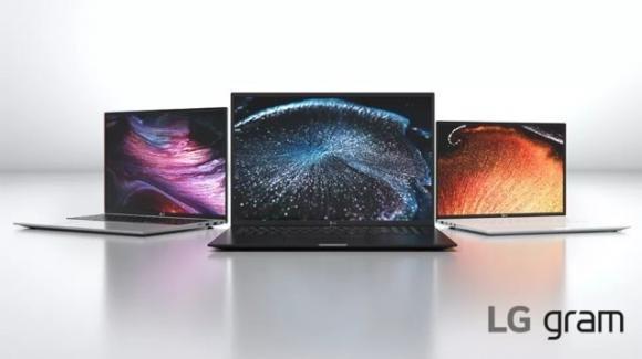 CES 2021: ufficiali i nuovi ultrabook LG Gram 2021 con Intel di 11a generazione