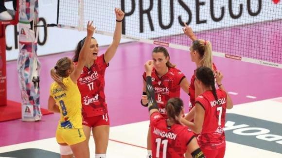 Volley femminile recupero 18a giornata: Busto vince 3-1 contro Brescia