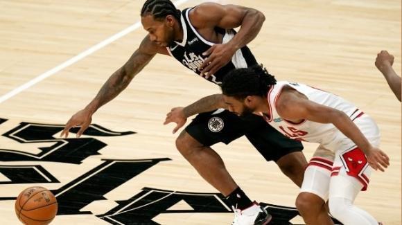 NBA, 10 gennaio 2021: Clippers vincenti di tre lunghezze sui Bulls, Lakers travolgenti in casa Rockets