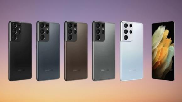 Samsung presenta i nuovi top gamma Galaxy S21, S21 Plus ed S21 Ultra
