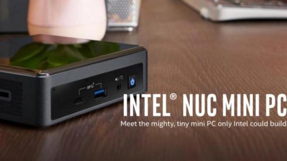 Intel propone al CES 2021 i nuovi miniPC NUC