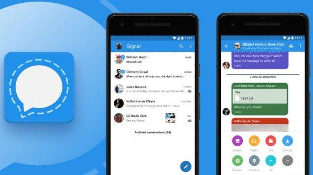 Signal: la scelta più sicura di molti utenti WhatsApp