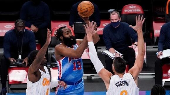 NBA, 16 gennaio 2021: debutto stellare di Harden con i Nets, battuti i Magic, i Grizzlies stendono i 76ers