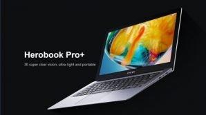 HeroBook Pro+: Chuwi porta all'esordio un notebook low cost con display 3K