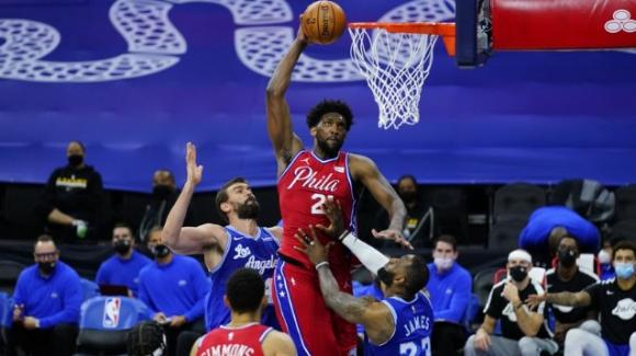 NBA, 27 gennaio 2021: i 76ers vincono all'ultimo contro i Lakers, I Nets passano in casa degli Hawks al supplementare