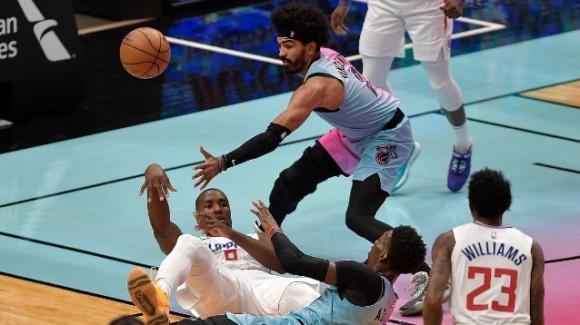 NBA, 28 gennaio 2021: i Clippers la spuntano sul campo degli Heat, i Pistons battono i Lakers