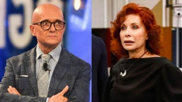 GF Vip, Alfonso Signorini non squalifica Alda D'Eusanio ma la rimprovera