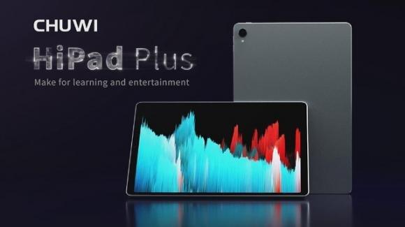 Chuwi HiPad Plus: ufficiale il tablet low cost con audio stereo e Bluetooth 5.0