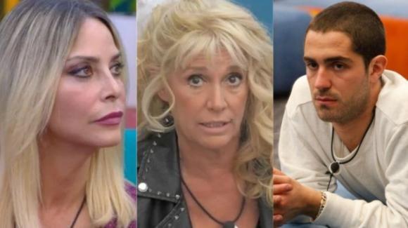 GF Vip, confessioni durante la notte tra Tommaso Zorzi e Stefania Orlando contro Maria Teresa Ruta