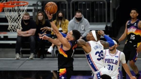 NBA, 13 febbraio 2021: i Suns stoppano i 76ers, i Jazz battono gli Heat