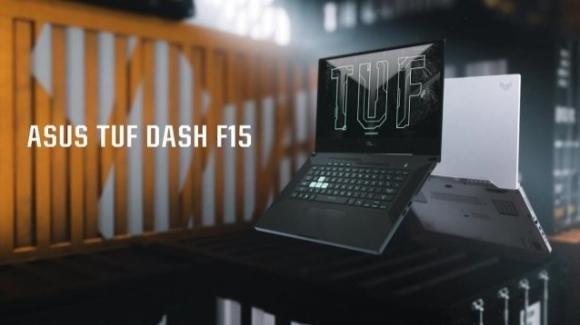 Asus TUF Dash F15: disponibile in Italia il gaming notebook leggero