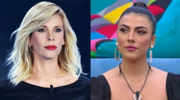 """Alessia Marcuzzi difende Giulia Salemi: """"A me fa tenerezza"""""""